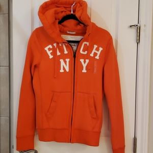 NWT Abercrombie & Fitch Men's Hooded Sweat Jacket